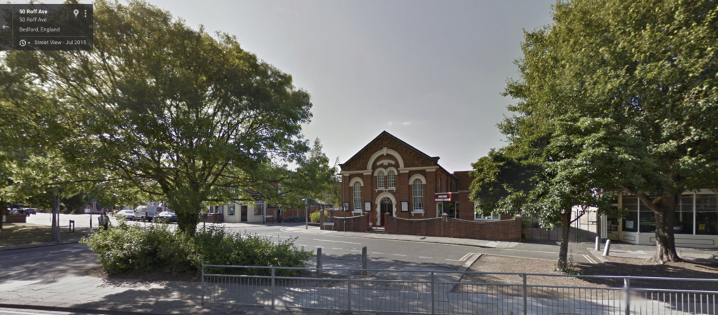 The Bedford Wing Chun School is located in the Methodist Church Hall in Roff Ave Bedford
