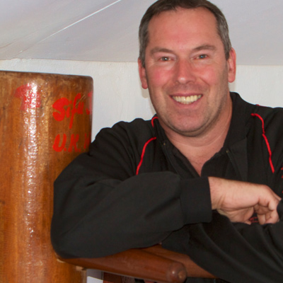 Master James Sinclair is the UK Wing cHun Founder and Chief Instructor